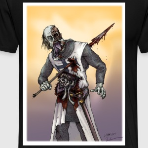 Zombie Crusader - Men's Premium T-Shirt