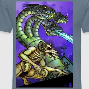 Hydra And Demon - Men's Premium T-Shirt