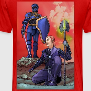 ELF AND KNIGHT - Men's Premium T-Shirt