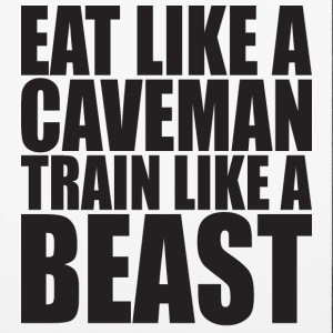 Eat Like A Caveman, Train Like A Beast. Phone & Tablet Cases - iPhone 6/6s Rubber Case