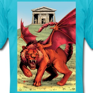 Manticore  - Men's T-Shirt by American Apparel