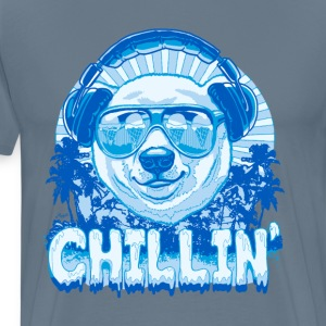 Polar Bear Chillin' - Men's Premium T-Shirt