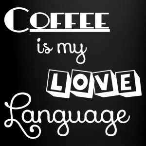 COFFEE LOVE LANGUAGE Mugs & Drinkware - Full Color Mug