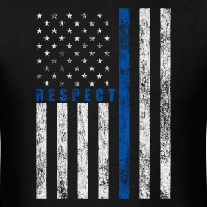 Respect Policemen T-Shirts - Men's T-Shirt