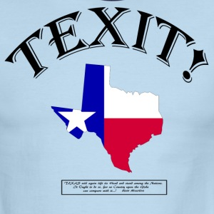 TEXIT! (With Sam Houston quote...!) T-Shirts - Men's Ringer T-Shirt