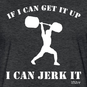 jerk it T-Shirts - Fitted Cotton/Poly T-Shirt by Next Level