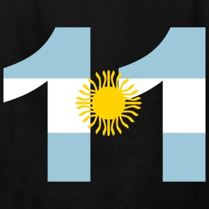 Argentinia Numbers, 11, Jersey Numbers Argentinia Kids' Shirts - Kids' T-Shirt