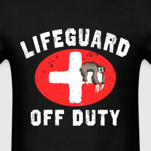 Sloth Guard Off Duty - Men's T-Shirt