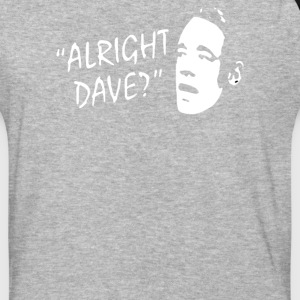 allright dave - Baseball T-Shirt