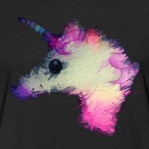 psycho unicorn T-Shirts - Fitted Cotton/Poly T-Shirt by Next Level
