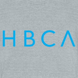 HBCA TRI BLEND grey heather - Unisex Tri-Blend T-Shirt by American Apparel