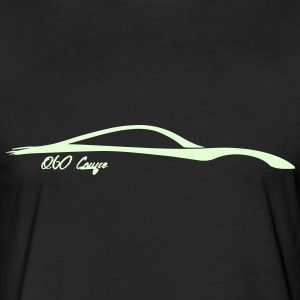 Infiniti Q60 Coupe - Glow in the dark logo - Fitted Cotton/Poly T-Shirt by Next Level