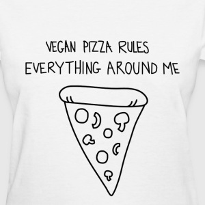 Vegan Pizza Shirt - Women's T-Shirt