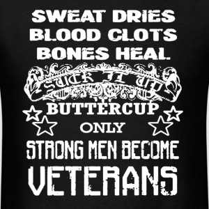 Proud Veterans T-Shirt - Men's T-Shirt