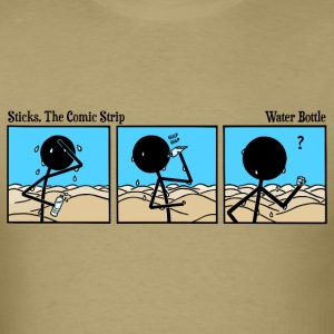 Sticks 201 Water Bottle T-Shirt - Men's T-Shirt
