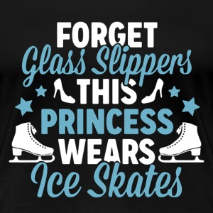 This Princess Wears Ice Skates - Women's Premium T-Shirt