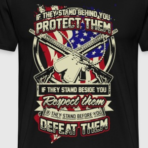 US Veteran Shirt - Men's Premium T-Shirt