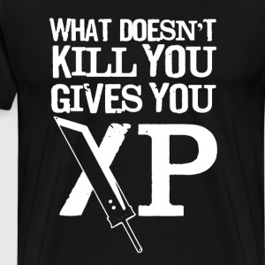 What Doesn't Kill You Give You XP - Men's Premium T-Shirt