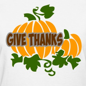 give thankssss.png T-Shirts - Women's T-Shirt