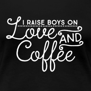 Love and Coffee - Women's Premium T-Shirt