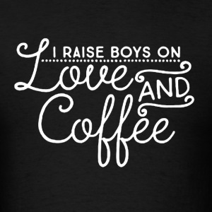 Love and Coffee - Men's T-Shirt