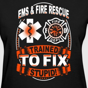 EMS And Fire Rescue Shirt - Women's T-Shirt