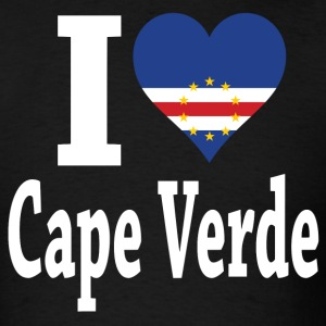 I Love Cape Verde Flag t-shirt - Men's T-Shirt