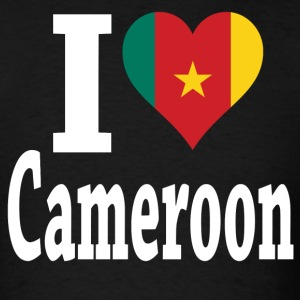 I Love Cameroon Flag t-shirt - Men's T-Shirt