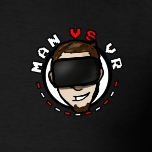 MANvsVR VR On Your Heart Tee - Men's T-Shirt