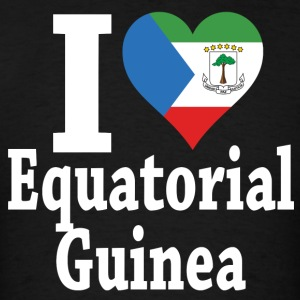 I Love Equatorial Guinea Fag t-shirt - Men's T-Shirt