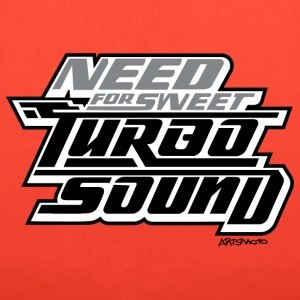 Need For Sweet Turbo Sound Bags & backpacks - Tote Bag