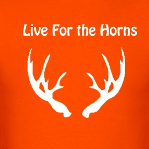 Live For the Horns - Men's T-Shirt