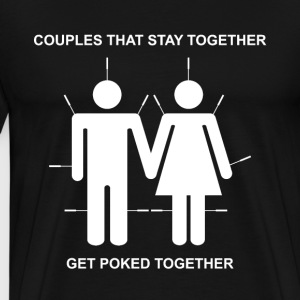 Poked Together T-Shirts - Men's Premium T-Shirt