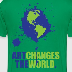 Art Changes the World Tee - Men's Premium T-Shirt