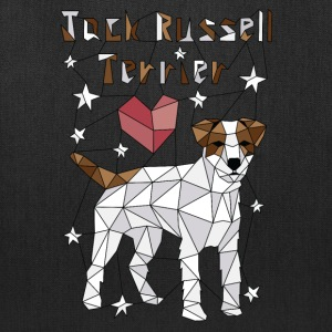 Geometric Jack Russell Terrier Bags & backpacks - Tote Bag