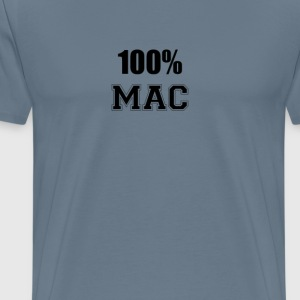 100% mac T-Shirts - Men's Premium T-Shirt