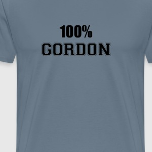100% gordon T-Shirts - Men's Premium T-Shirt