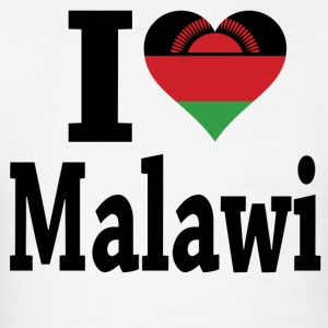 I Love Malawi Flag t-shirt - Men's T-Shirt