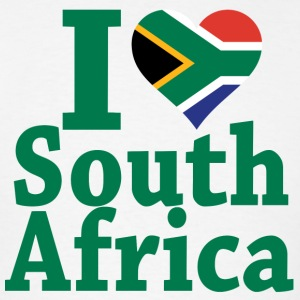 I love South Africa Flag T-Shirt - Men's T-Shirt