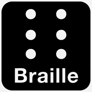 Braille (Language for Blind People) Kids' Shirts - Kids' T-Shirt