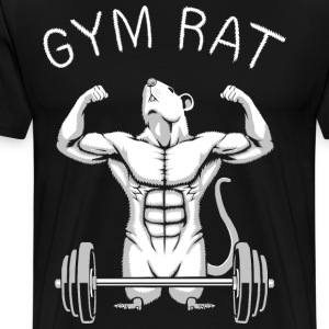 Gym Rat T-Shirts - Men's Premium T-Shirt