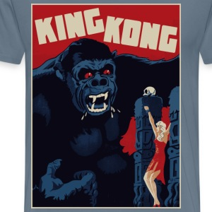 King Kong Poster - Men's Premium T-Shirt