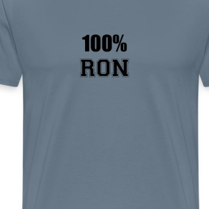 100% ron T-Shirts - Men's Premium T-Shirt
