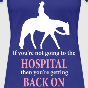 Quarter Horse: Western Pleasure with Quote T-Shirts - Women's Premium T-Shirt