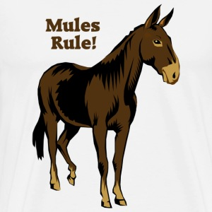 Mules Rule! - Men's Premium T-Shirt
