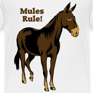 Mules Rule! - Kids' Premium T-Shirt