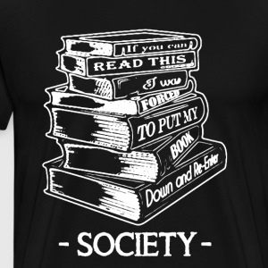 Book Society Shirt - Men's Premium T-Shirt