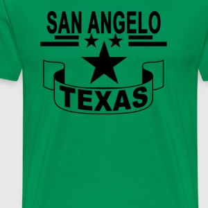 san_angelo_texas_ - Men's Premium T-Shirt