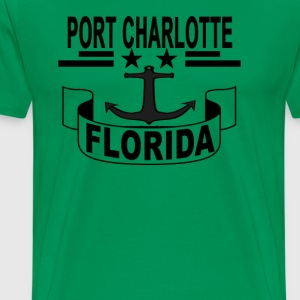port_charlotte_fl_ - Men's Premium T-Shirt
