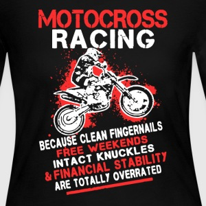 Motocross Racing Shirt - Women's Long Sleeve Jersey T-Shirt